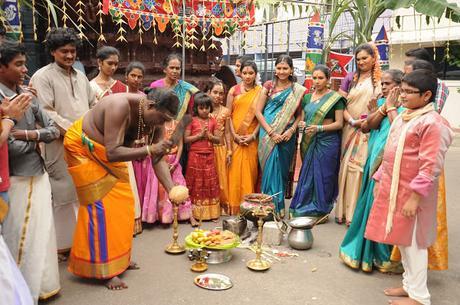 Celebración Thai Pongal