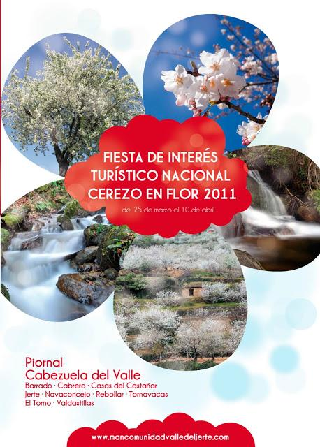 Cartel Oficial 2011 Cerezo en Flor, Valle del Jerte