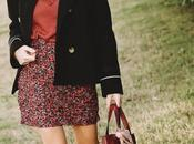 Como combinar falda drapeada