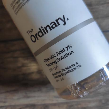 The Ordinary : Tónico de Ácido Glicolico al 7%