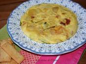 Tortilla patatas ajos tiernos
