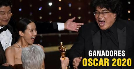 Ganadores Premios Oscar 2020 (Crónica y Lista Completa)