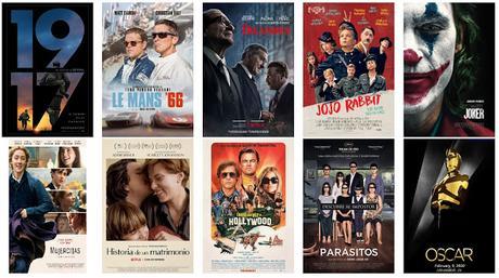 Óscars 2020 - Ganadores
