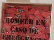 """Regalo para Valentín DIY: caja """"romper caso emergencia"""""""