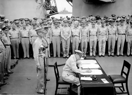 II GUERRA MUNDIAL: LA RENDICIÓN DE JAPÓN (2.09.1945). FIN DE LA GUERRA