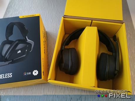 ANÁLISIS HARD-GAMING: Auriculares Corsair VOID RGB ELITE Wireless