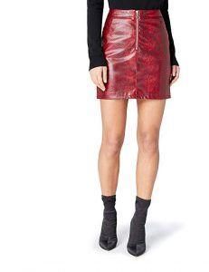 Combinar Falda Escocesa Roja