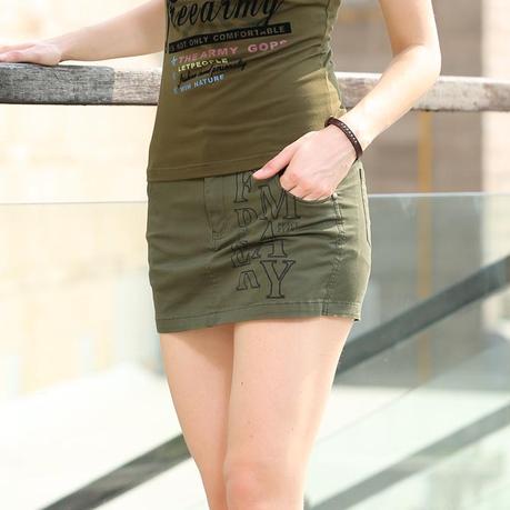 Falda De Militar Para Mujer