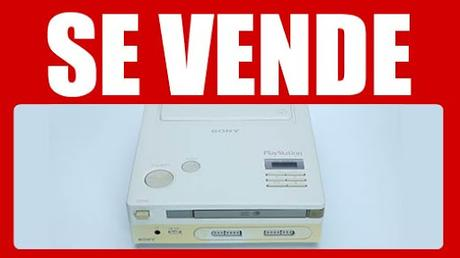 Prepara la chequera, ¡la Nintendo PlayStation se subasta!