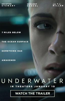 UNDERWATER (octava película vista en 2020) (USA, 2019) Ciencia Ficción