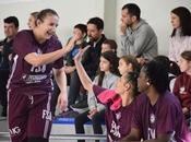 Galería escenas Bàsquet Femení Sant Adrià-CB Jaris (Liga Femenina