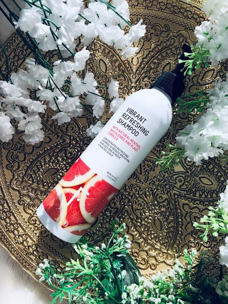 champú vibrant refreshing de la firma freshly cosmetics