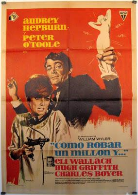 COMO ROBAR UN MILLÓN Y... (How to Steal a Million) (USA, 1966) Intriga, Comedia, Grandes Robos