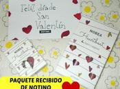 Paquete Recibido Notino Valentín