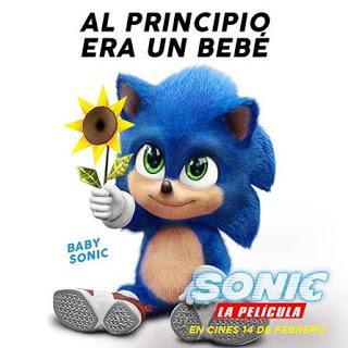 Simpático clip de Baby Sonic con motivo del estreno de la película