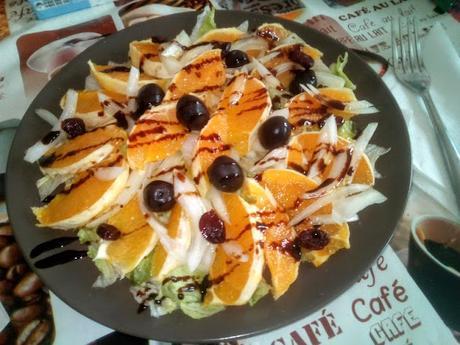 Ensalada de naranja
