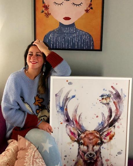 Posterlounge Wandbild - Christine Bässler »Mandala Glück