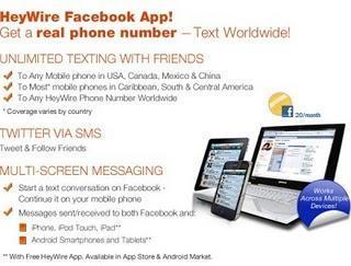 Enviar Tweets y mensajes de texto gratuitamente