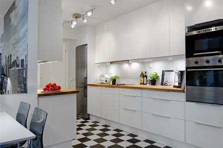 Un piso de estilo moderno paperblog for Pisos para cocina moderna