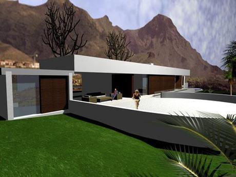 Vivienda unifamiliar A-cero en Tenerife (Año 2003)