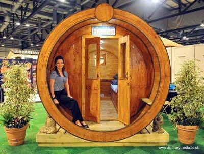 Caba as peque as mini de madera paperblog for Casas reducidas