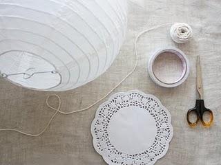 Tutorial: ¡Farolillos para decorar tu banquete de boda!