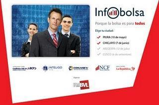 INFOBOLSA 2011: Evento de bolsa de valores de Lima  en Piura, Chiclayo, Arequipa y Cusco