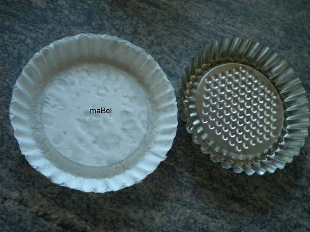 Moldes caseros de papel, pirotines para magdalenas, cupcakes