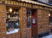 restaurante antiguo mundo está Madrid