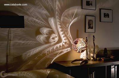 L mparas de mesa artesanales paperblog - Lamparas de mesa clasicas ...