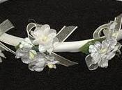 Diadema comunión flores