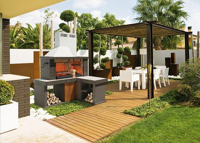 Puesta a punto de porches y terrazas paperblog - Terraza con barbacoa ...