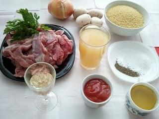 Pavo en salsa agridulce
