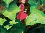 Póster español 'Arrietty mundo diminutos', nuevo Studio Ghibli