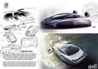 El auto anfibio Volkswagen Aqua