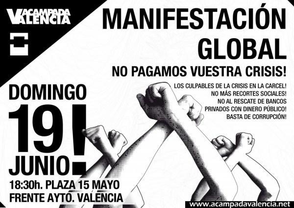 Manifestación 19 – J Valencia