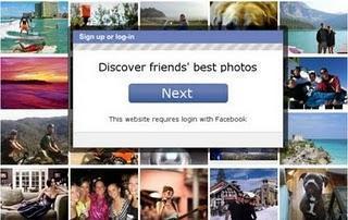 Vota por las mejores fotos de tus amigos en Facebook