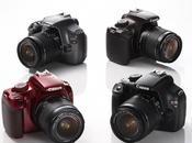 Canon empieza vender (EOS 1100D) colores