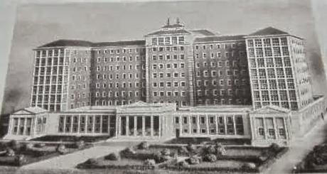 El antiguo Hospital Río Hortega