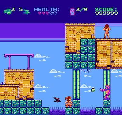 Eyra the Crow Maiden es un nuevo juego para NES que consigue financiación para su producción