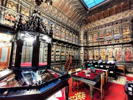 La Bibioteca del Senado: La biblioteca más bonita de Madrid