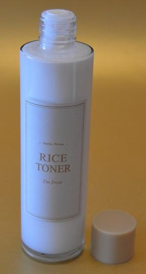 "El tónico de arroz ""Rice Toner"" de I'M FROM (From Asia With Love)"