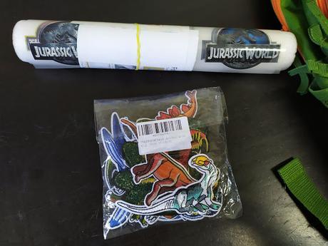 Pegatinas de Jurassic world para ropa