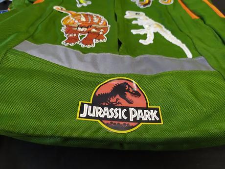 Mochilas de Jurassic World y Jurassic Park para ropa