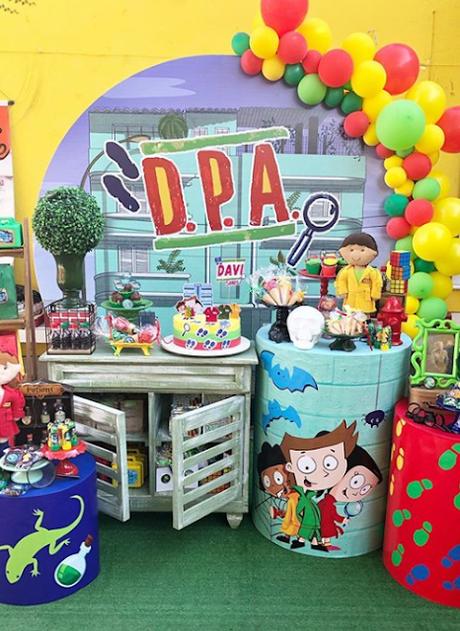 Fiesta temática de detectives D.P.A.