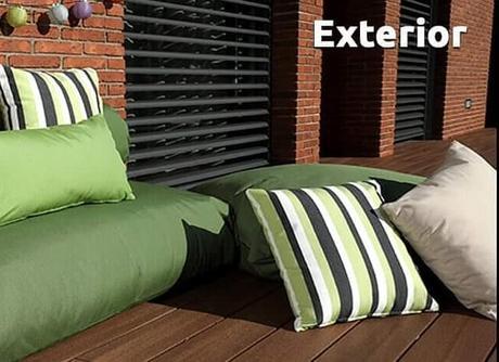 Exterior Textil.