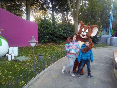 Parques temáticos en España: Parque Warner Madrid
