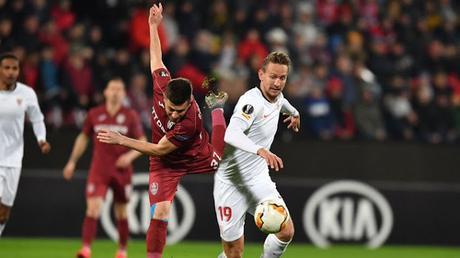 Crónica Cluj 1 - Sevilla FC 1