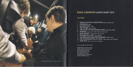 King Crimson - Audio Diary 2014-2018 (2019)