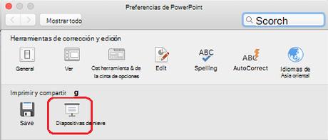 Como desactivar la vista de moderador de PowerPoint en Mac